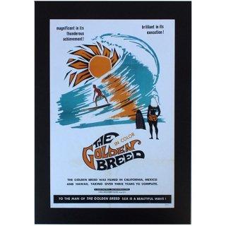 ハワイアンポスター サーフムービーポスター THE GOLDEN BREED