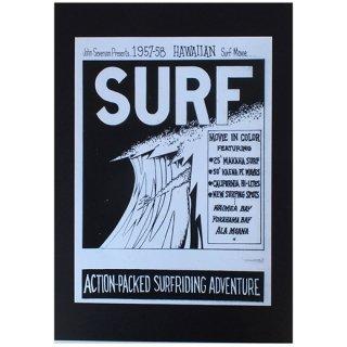 ハワイアンポスター サーフムービーポスター SURF HAWAIIAN surf Movie
