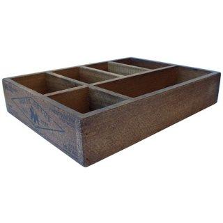 ダルトン ウッドオーガナイザーボックス (木箱) ナチュラル DULTON WOODEN ORGANIZER BOX