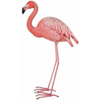 【同梱不可】フラミンゴ フィギュア 置物 ラージサイズ Flamingo Figurine Large