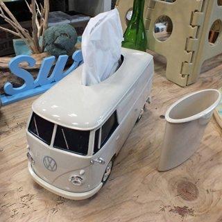 フォルクスワーゲンバス ティッシュボックス CREAM VW T1 BUS TISSUE BOX PLUS(CRM)