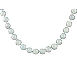 宇和島産 PTナチュラルブルーカラーアコヤ真珠 ネックレス