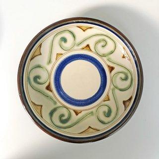 やちむん PEANUT 7寸皿(波線)