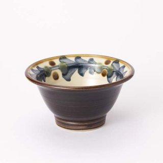 やちむん PEANUT 4.5寸鉢(巻唐草)