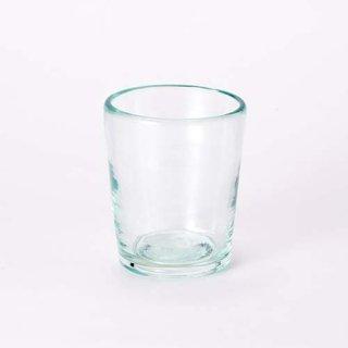 琉球ガラス 奥原硝子製造所 3半コップ(ライトラムネ)