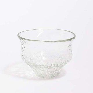琉球ガラス 吹きガラス工房 彩砂 ボウルグラス アイスカット