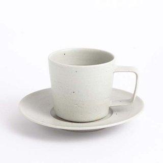 能登デザイン室 コーヒーカップ・ソーサー白