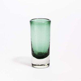 琉球ガラス ガラス工房清天 一口ビアグラス グリーン