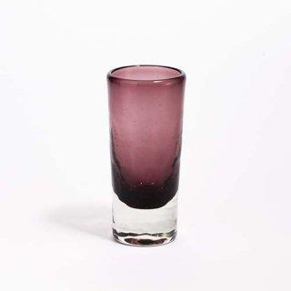琉球ガラス ガラス工房清天 一口ビアグラス パープル