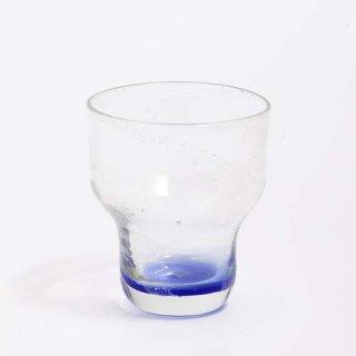 琉球ガラス ガラス工房ロブスト てぃんがーらグラス(ブルー)