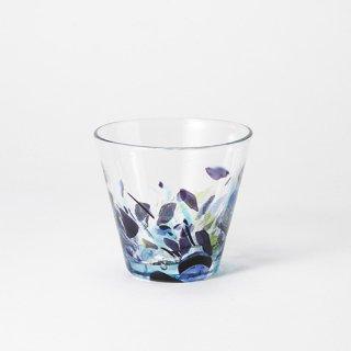 琉球ガラス 海風 アクアリーフ広口グラス 小