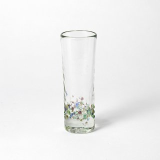 琉球ガラス glass32 スパークリンググラス カレット
