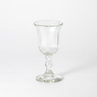 琉球ガラス glass32 縦モールワイングラス クリア
