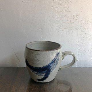 やちむん やちむん工房 mug くじらマグカップ
