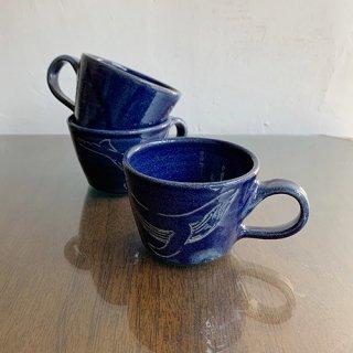 やちむん やちむん工房 mug くじらマグカップ2