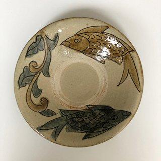 やちむん 菅原窯 皿7寸(魚紋)