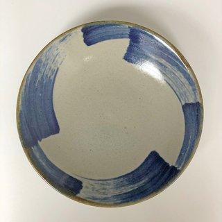 やちむん やちむん工房 mug 刷毛目7寸皿