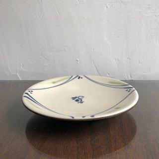 やちむん 工房o-gusuya 絵付け5.5寸皿