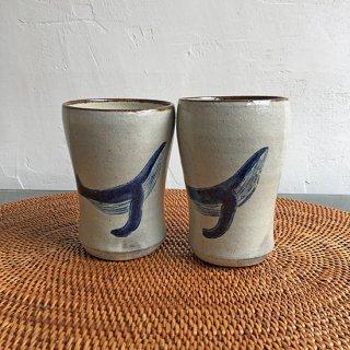 やちむん やちむん工房 mug フリーカップくじら 白