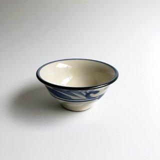 やちむん 陶眞窯 3.5寸マカイ(線唐草)