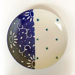 やちむん 高江洲陶磁器 7寸皿