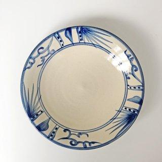 やちむん 陶眞窯 7寸皿(首里城レストラン)