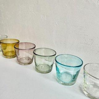 琉球ガラス ガラス工房清天 ノーマルグラス低(4色)