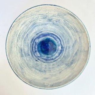 風ファクトリー ガラス彩陶器 鉢(大)