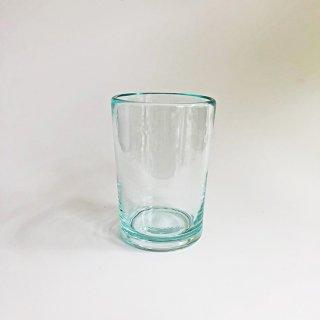 琉球ガラス 奥原硝子製造所 4半コップ(ライトラムネ )