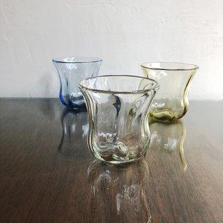 琉球ガラス glass32 うずグラス(6色)