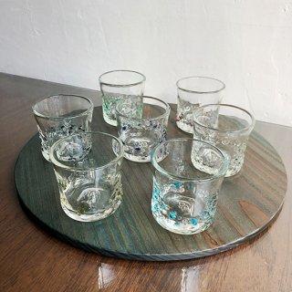 琉球ガラス glass32 カレットぐい呑(7色)