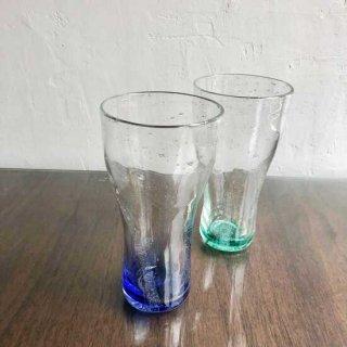 琉球ガラス ガラス工房ロブスト サワーグラス (2色)