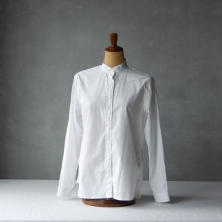 HAND ROOM WOMEN'S<br>スーピマコットン スタンドカラーシャツ
