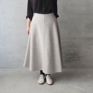 Le minor<br>ウールジャージー ロングスカート