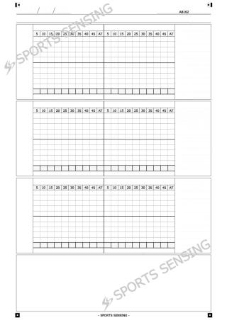 A8162 時系列傾向分析シート(3テーマ/45分/3行)
