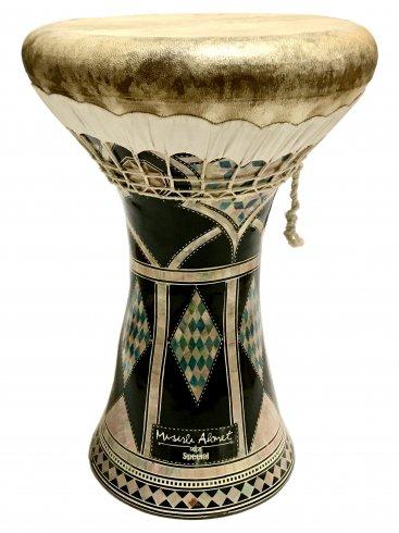 【Elarabi】クレイ(陶器) ダラブッカ ドホラ ムスルルアフメットモデル/ Cray Darbuka Doholla(Misirli Ahmet model)