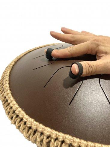 スリットドラム用 指キャップ / Finger cap for Slit tongue drum
