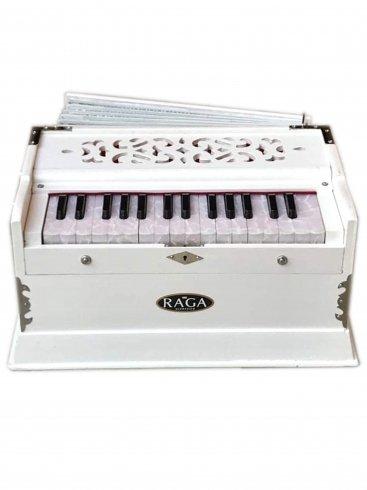 【受注生産】ハルモニウム ミニクラシック ホワイト 30鍵 [RAGA] / Harmonium mini classic 2.25octaves