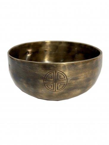 フルムーンボウル 04[14cm Key:Eb] / Full moon bowl(Singing bowl)