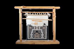 TOADOLENA RUG (トドレナ ラグ)/ナバホ族ラグ/織り機 オブジェ/ (TD8)