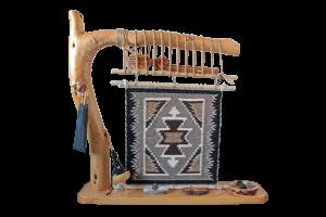 TOADOLENA RUG (トドレナ ラグ)/ナバホ族ラグ織り機 オブジェ/ (TD9)