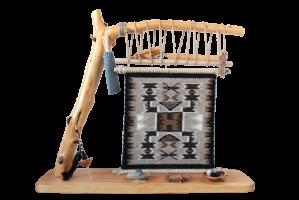 TOADOLENA RUG (トドレナ ラグ)/ナバホ族ラグ織り機 オブジェ/ (TD10)