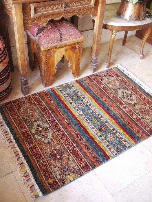 新しい絨毯 ラクダのオープンヘイべデザイン 約120×80