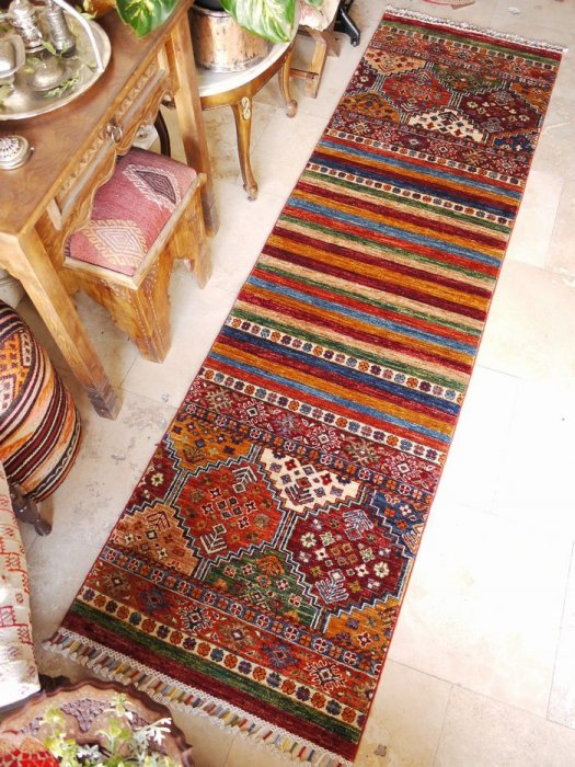 新しい絨毯 ラクダのオープンヘイべデザイン ランナー 約253×71