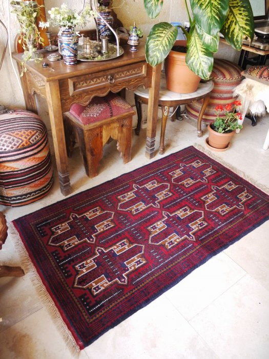 新しい絨毯バルーチ  約143×82