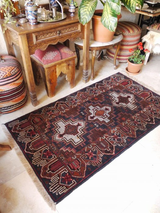 新しい絨毯バルーチ  約153×87