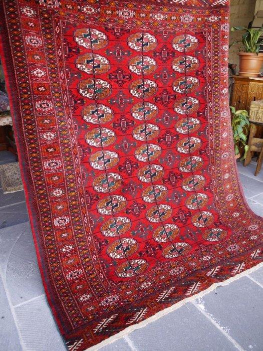 オールド絨毯 憧れのトルクメン絨毯  約164×130