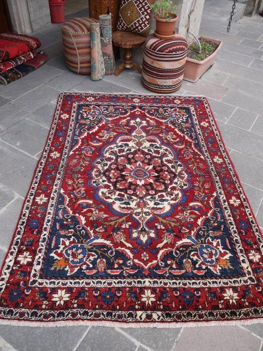 オールド絨毯 ペルシャ バクティアリ  約203×146