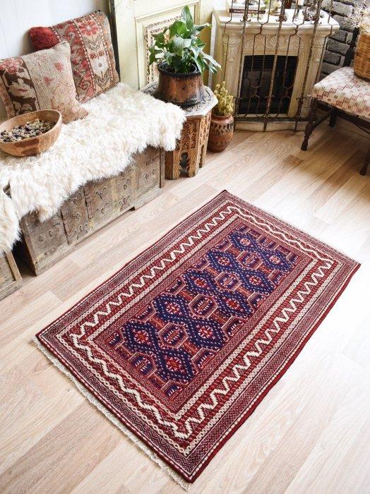 オールド絨毯 トルクメン  約125×80