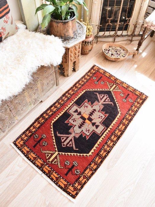 オールド絨毯 ヤストゥック マラティア  約111×64